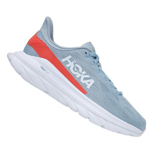 HOKA ONE ONE Women's Mach 4 Running Shoes Blufg.Hcor_bfhc