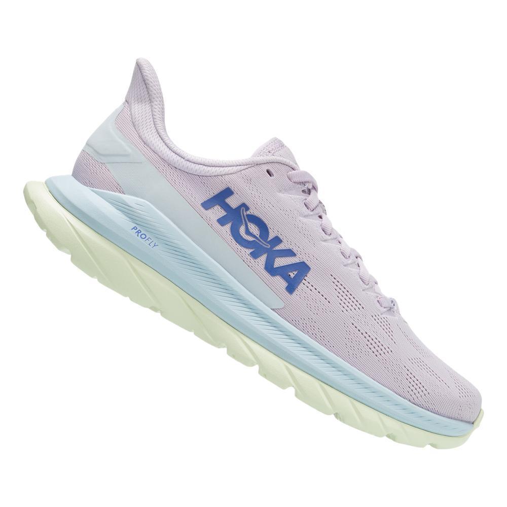 HOKA ONE ONE Women's Mach 4 Running Shoes ORCHD.IRS_OHIB