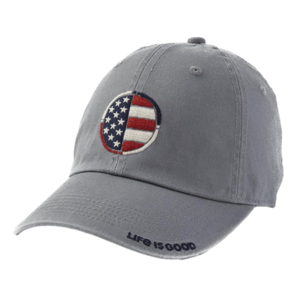 Life is Good Flag Coin Chill Cap SLATEGRAY