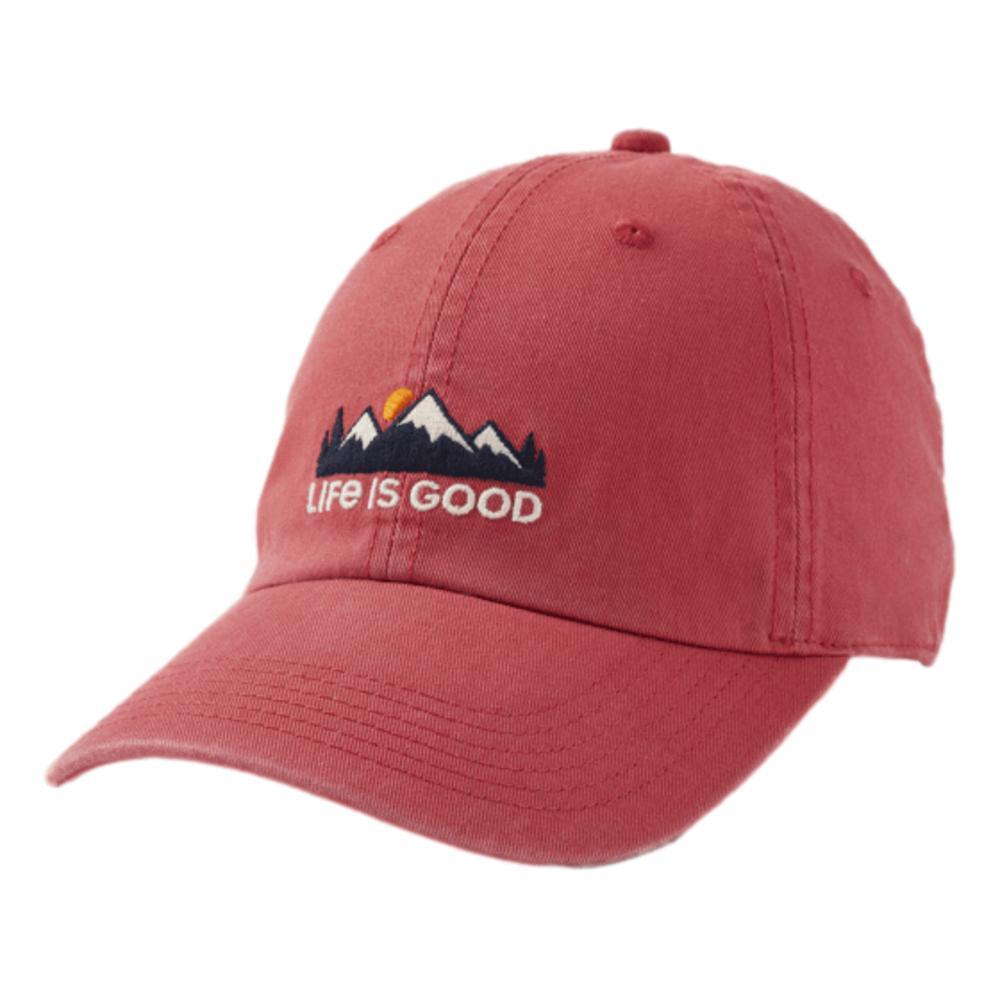 Life is Good LIG Mountain Chill Cap FADEDRED