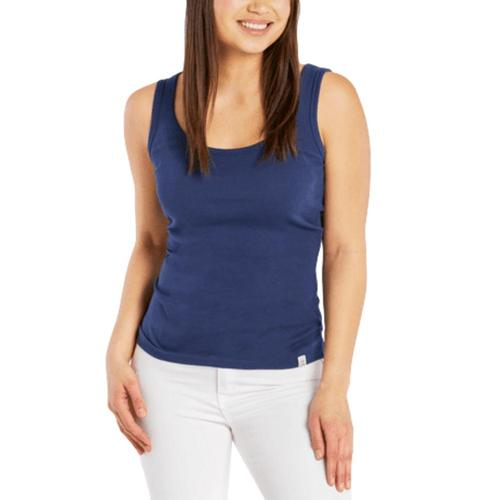Life is Good Women's Soft & Simple Fitted Tank Darkestblue