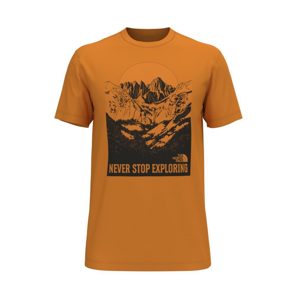 The North Face Men's Short Sleeve Natural Wonders Tee ORANGE_PKH