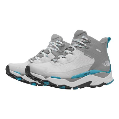 The North Face Women's VECTIV Exploris Mid FUTURELIGHT Hiking Boots Wht_mblu_0w9