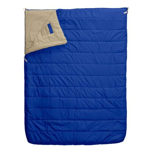 The North Face Eco Trail Bed Double 20 Sleeping Bag - Regular Tnfblu_twbeig_pt3