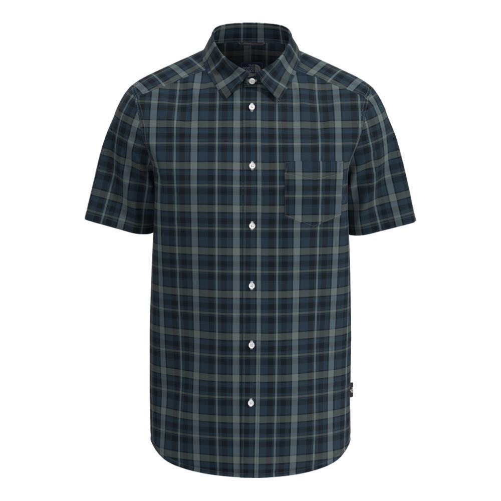 The North Face Men's Short Sleeve Hammetts Shirt II BLUE_09E