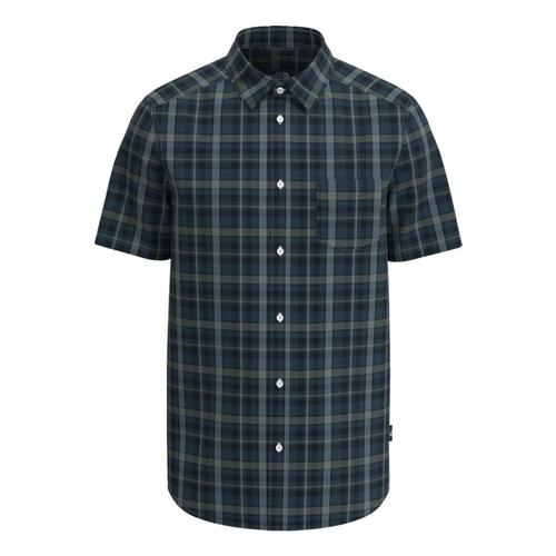 The North Face MenÕs Short Sleeve Hammetts Shirt II Blue_09e
