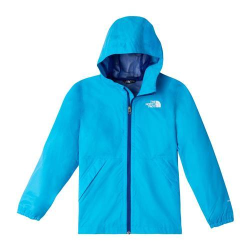 The North Face Youth Zipline Rain Jacket Blued7r