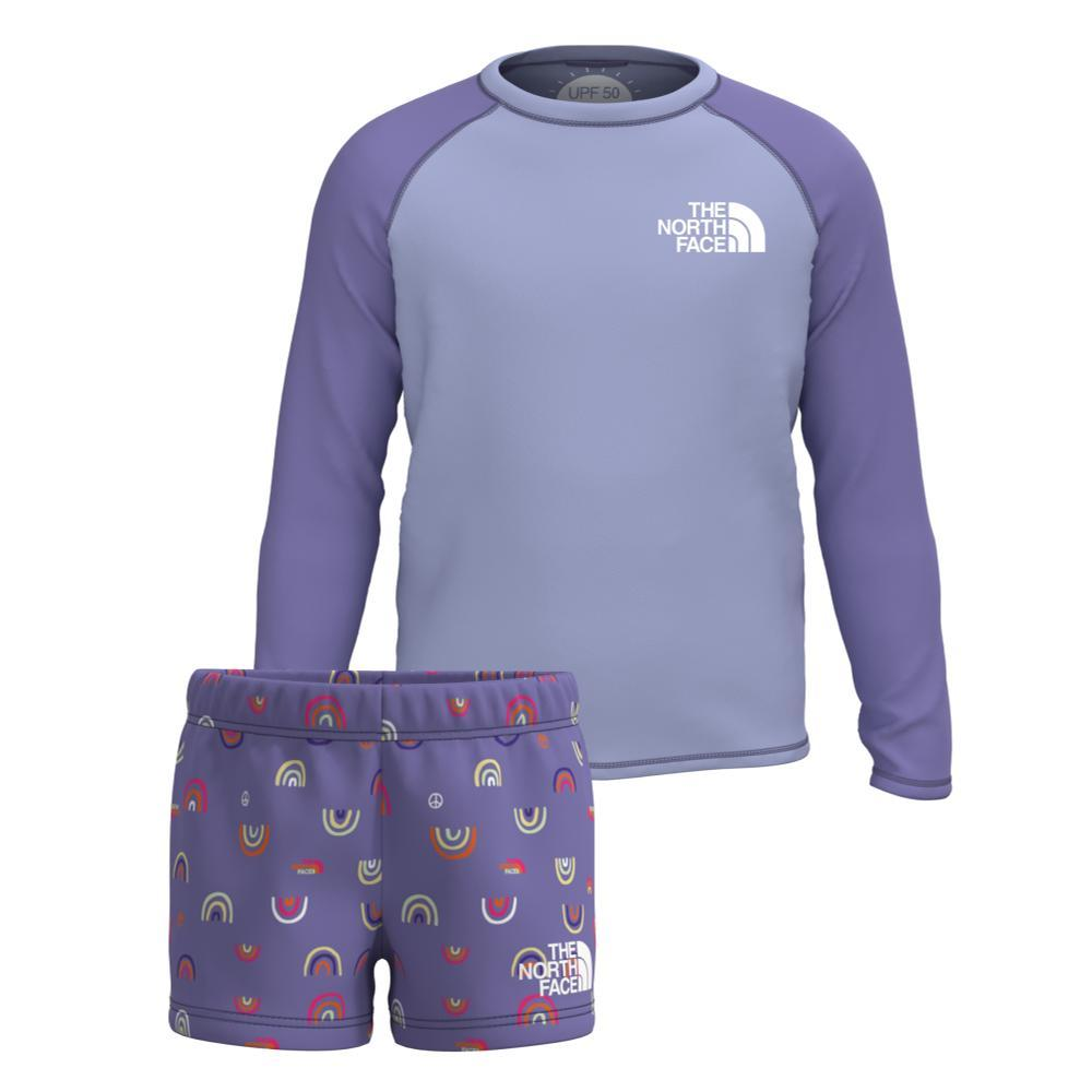 The North Face Toddler Long Sleeve Sun Set PURPLE059