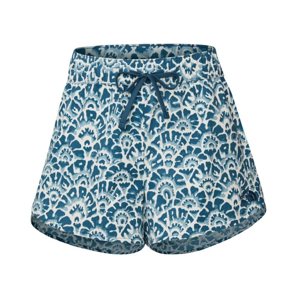 The North Face Women's Class V Mini Shorts BLUEFLORAL_030