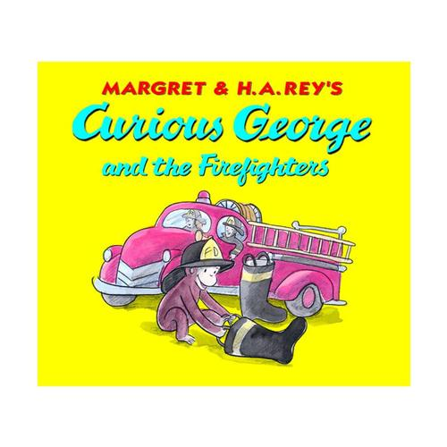 Curious George and the Firefighters: Lap Edition by H. A. Rey and Anna Grossnickle Hines