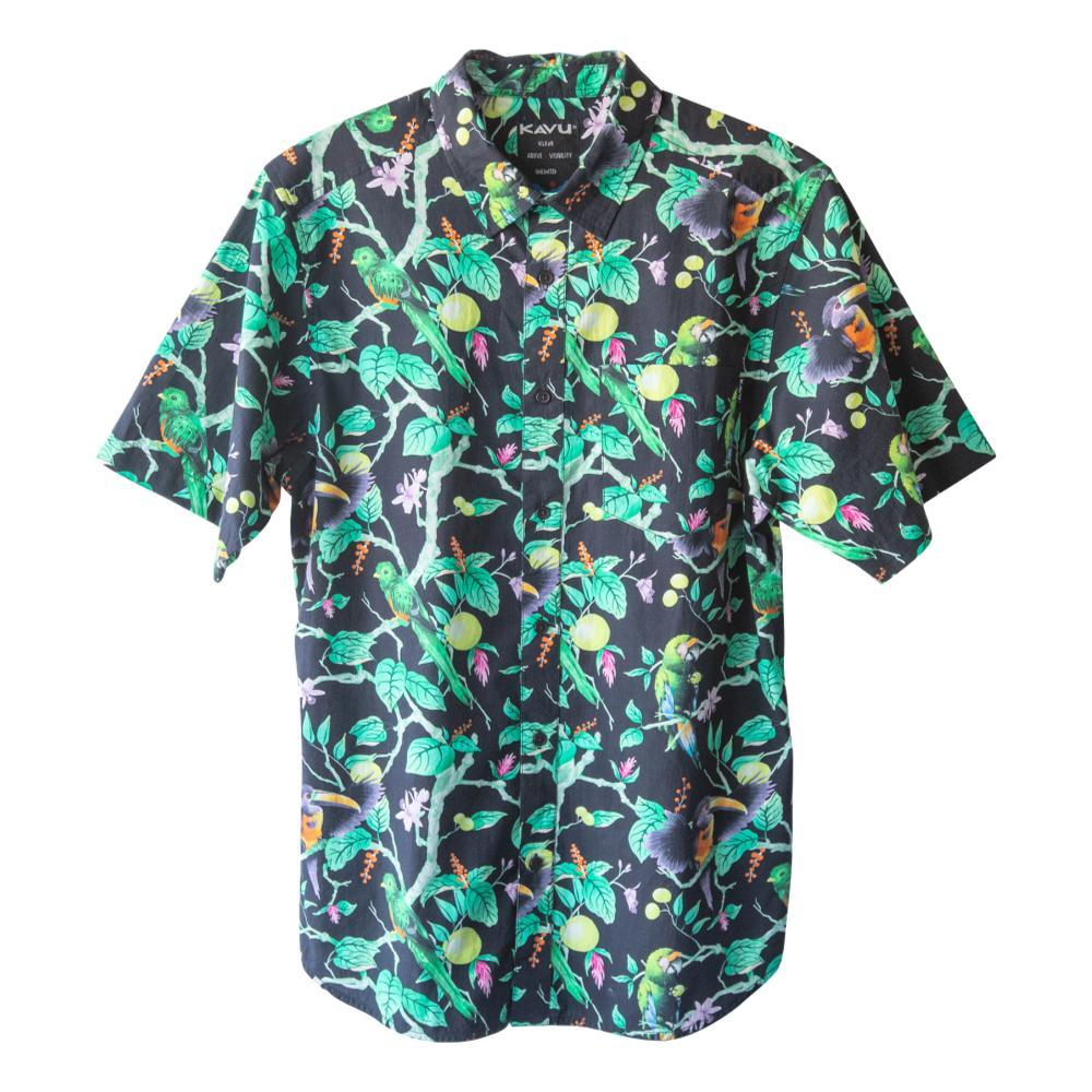 KAVU Men's The Jam Short Sleeve Shirt RAINFST_1472