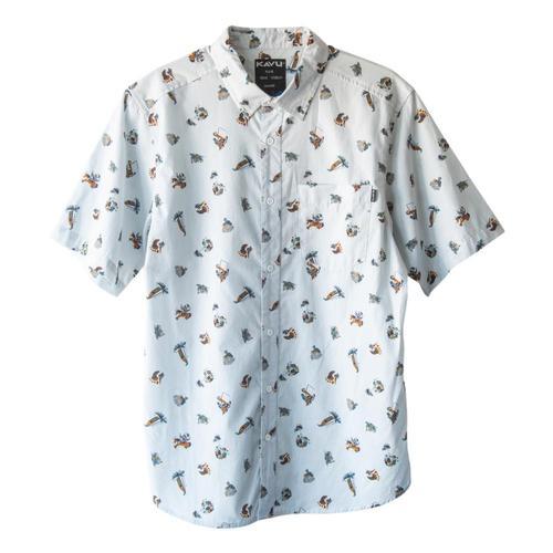 KAVU Men's The Jam Short Sleeve Shirt Sumsasq_1377