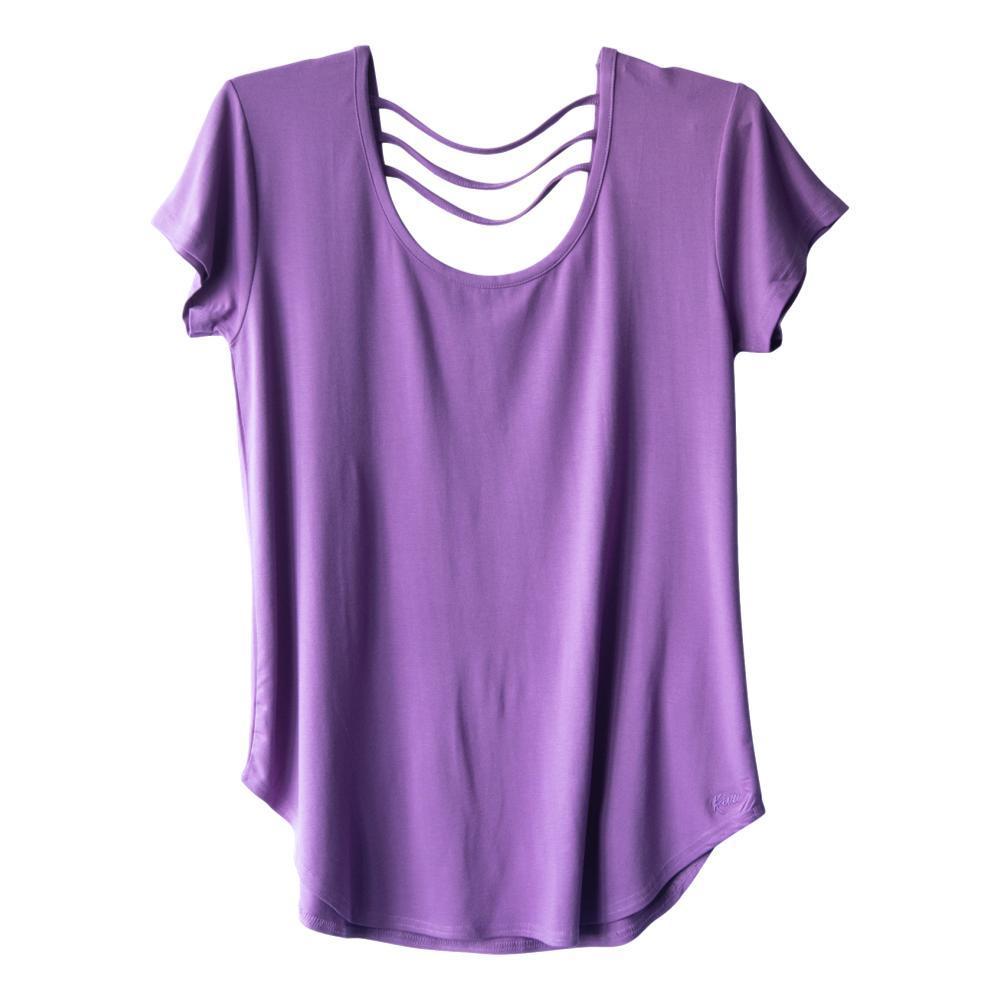 KAVU Women's Cozumel Shirt PLUMBEACH_1395