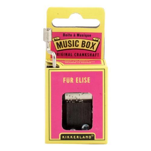 Kikkerland Fur Elise Crank Music Box