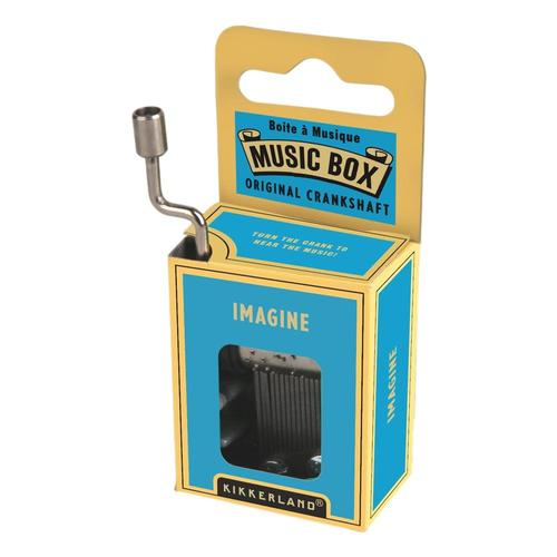 Kikkerland Imagine Crank Music Box