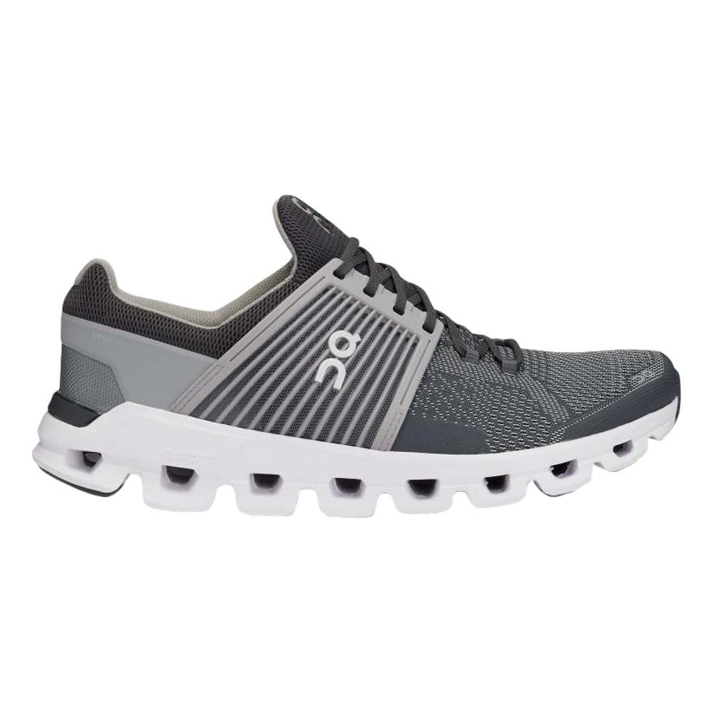 On Men's Cloudswift Running Shoes ROCK.SLT