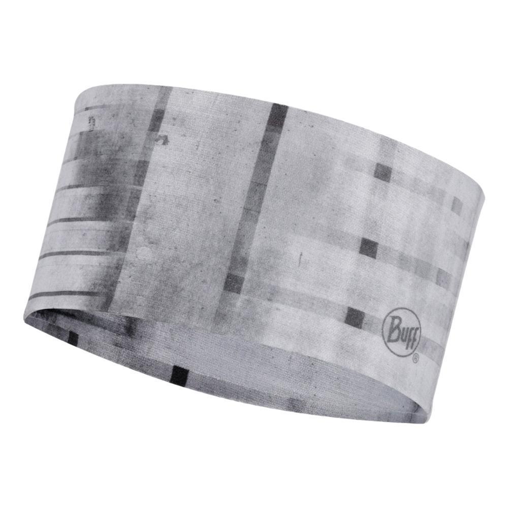 BUFF Original CoolNet UV+ Headband - Barriers Fog Grey BARFOGGREY