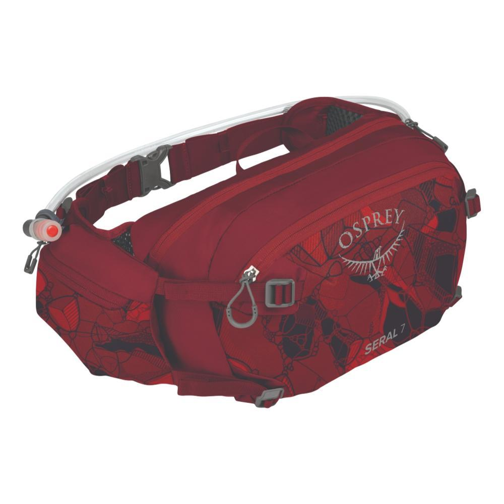 Osprey Seral 7 Lumbar Pack CLARETRED