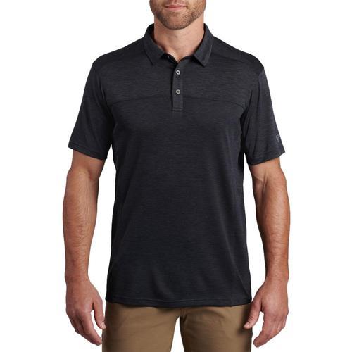 KUHL Men's Engineered Polo Shirt Black_bk