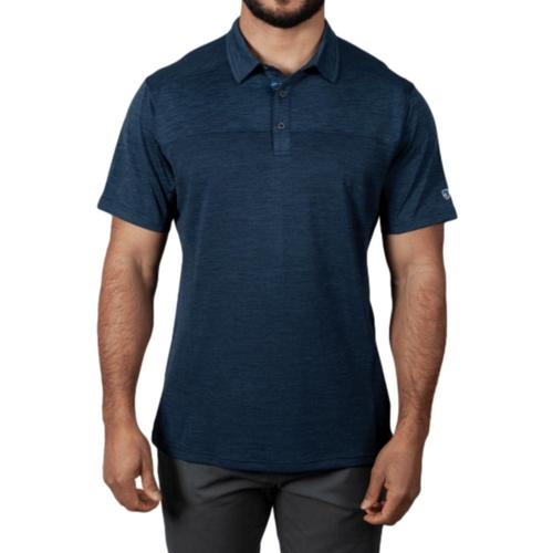KUHL Men's Engineered Polo Shirt Blue_pb