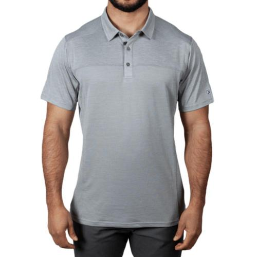 KUHL Men's Engineered Polo Shirt Cloud_cldg