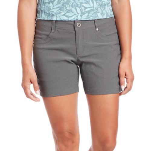 KUHL Women's Trekr Shorts - 5.5in Charcoal_ch