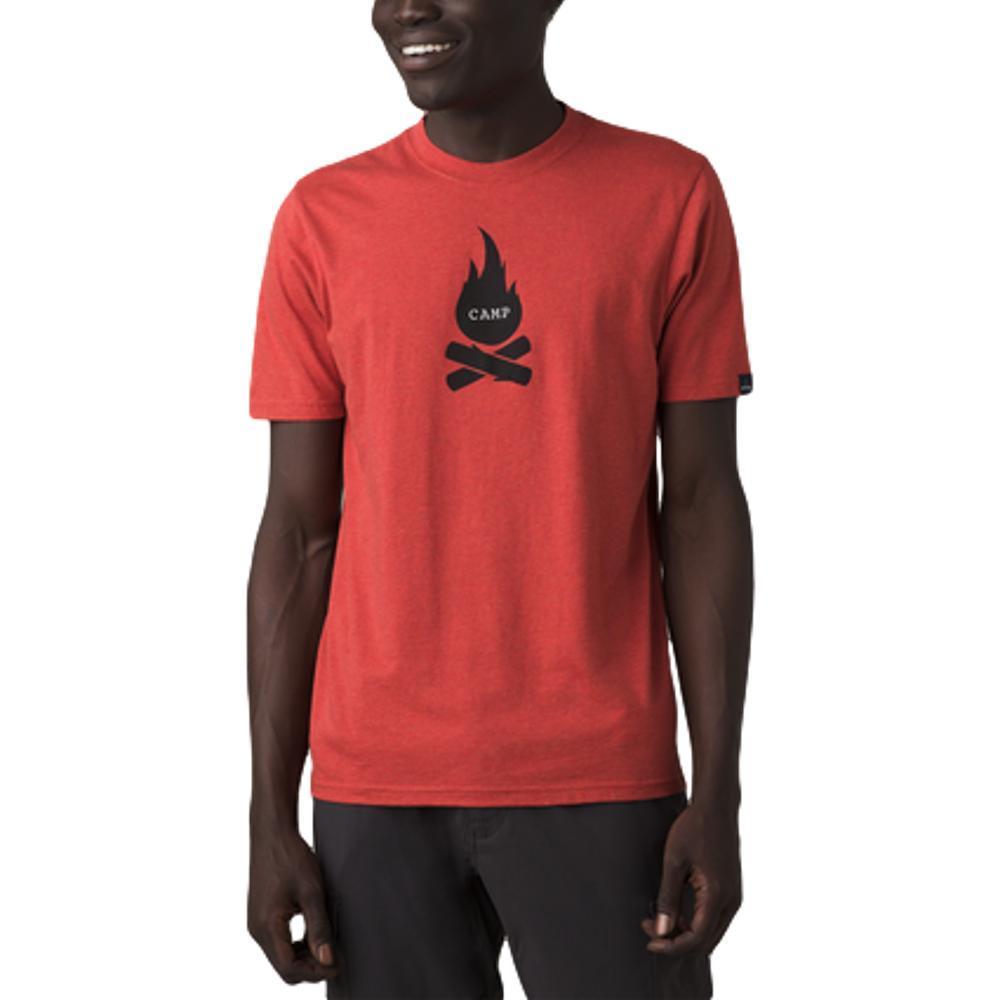 prAna Men's Campfire Journeyman Graphic Tee GINGERFLWR