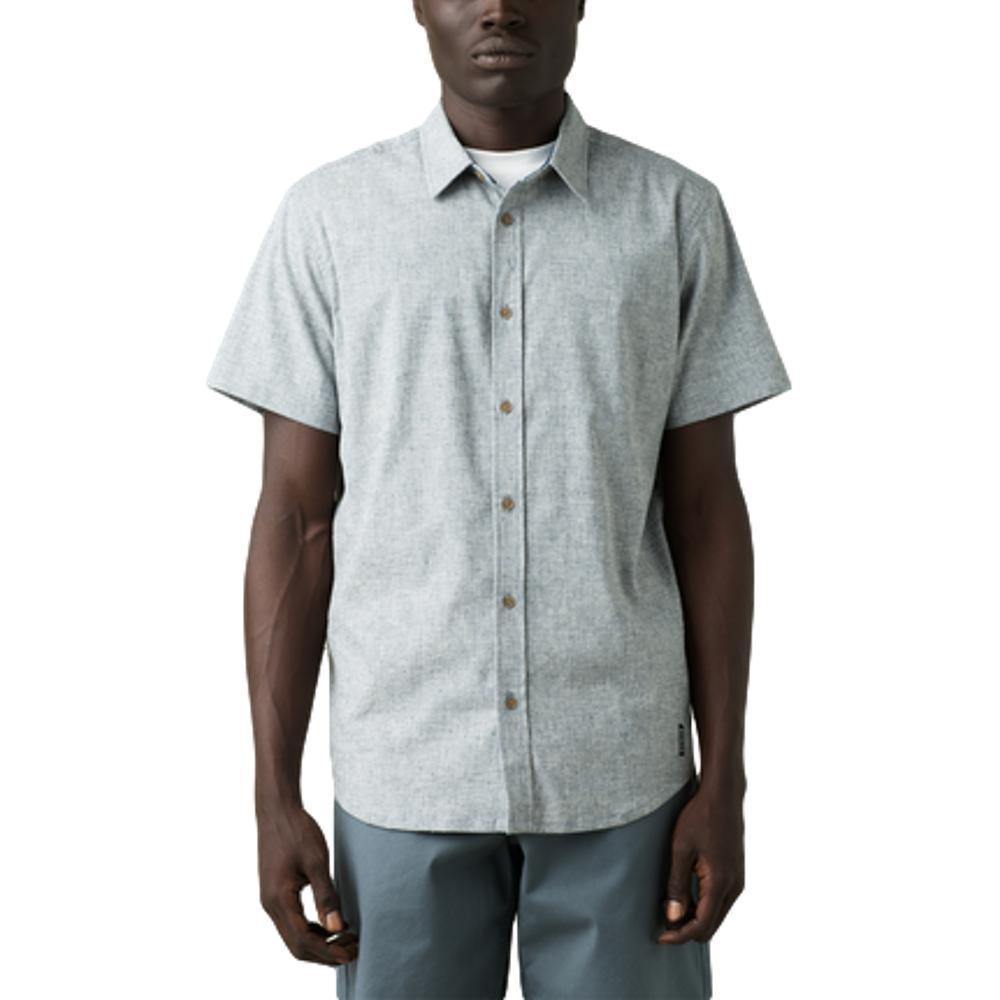 prAna Men's Grixson Shirt - Slim NICKLE