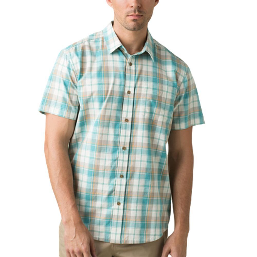 prAna Men's Benton Shirt AZURITE