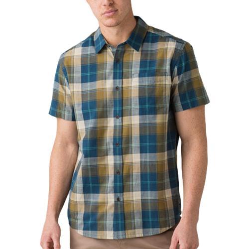 prAna Men's Benton Shirt Woodland