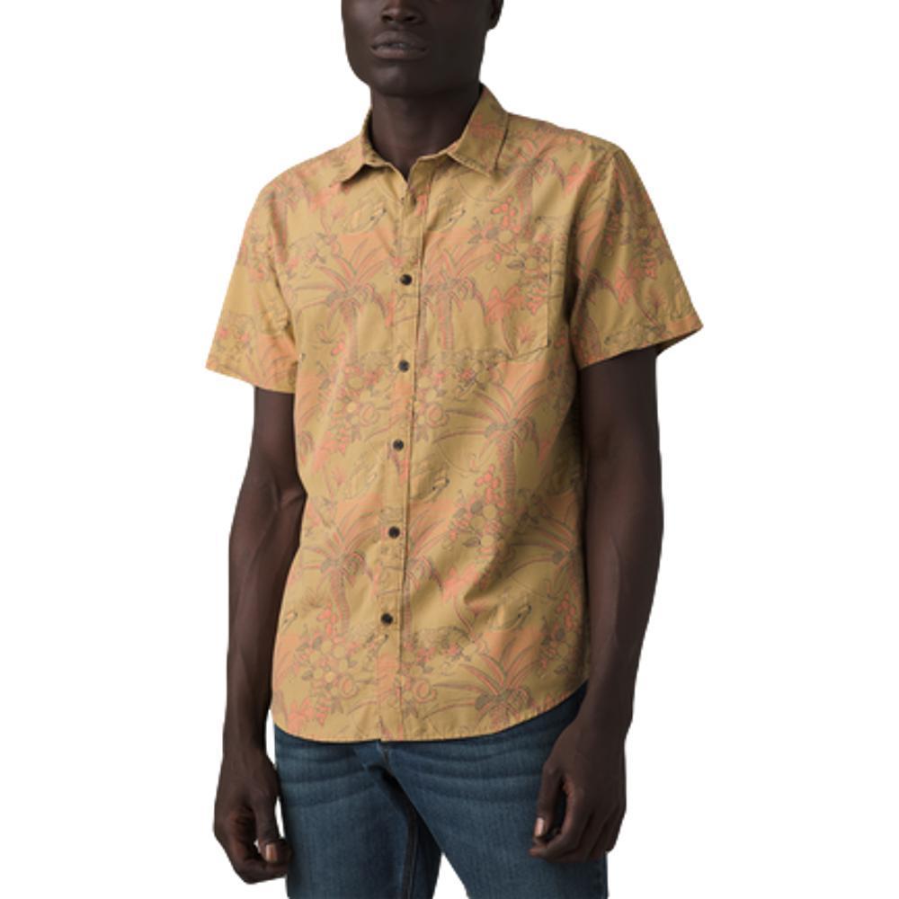 prAna Men's Stimmersee Shirt - Slim STRAW