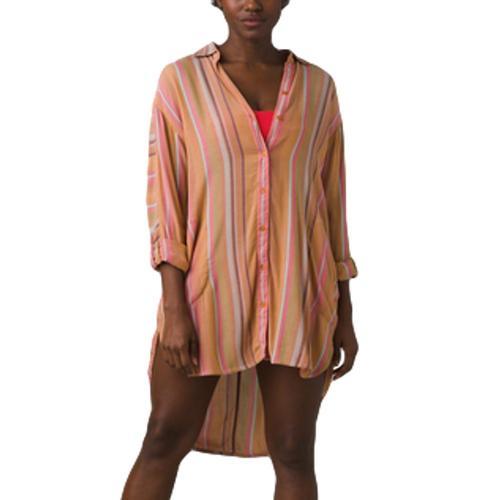 prAna Women's Scheena Shirt Cactistripe