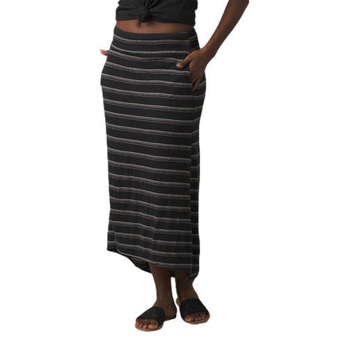 prAna Women's Jasmine Skirt Blackstripe