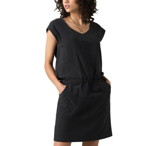 prAna Women's Norma Dress Black