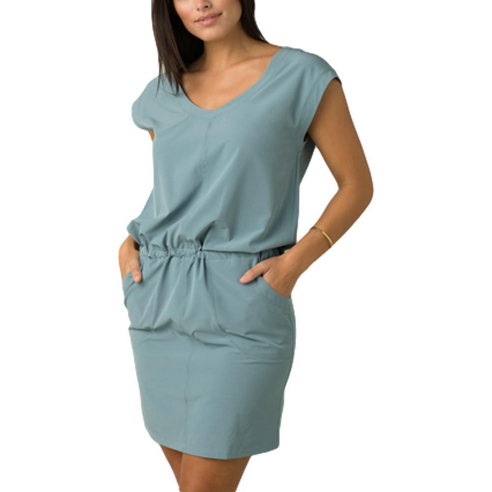 prAna Women's Norma Dress SMOKYBLUE