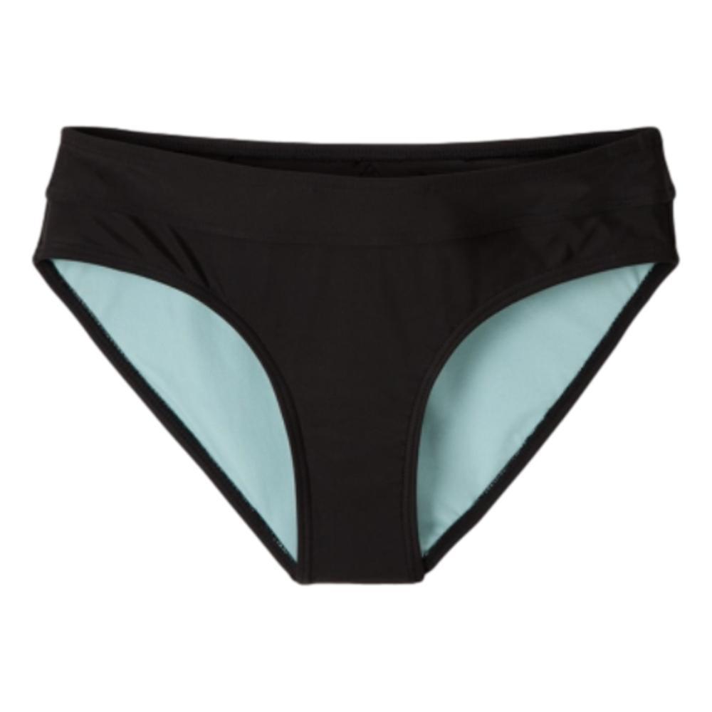 prAna Women's Ramba Full Coverage Bikini Bottoms BLACKSOLID
