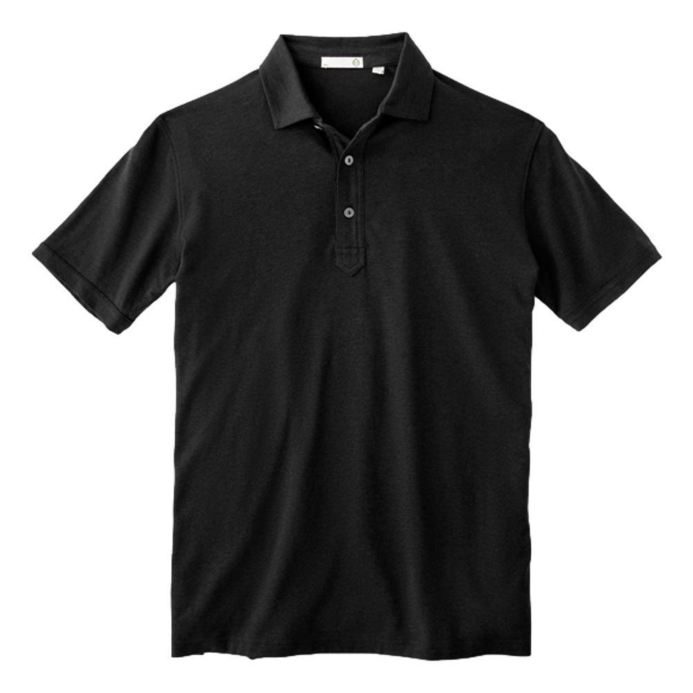 tasc Men's Everywear Polo BLK_001