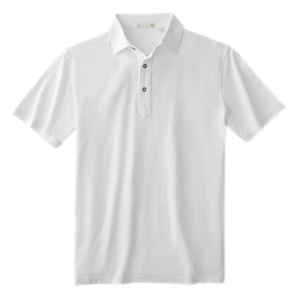 tasc Men's Everywear Polo WHITE_100