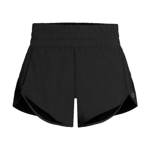 tasc Women's Game On! Shorts - 4in Black_001