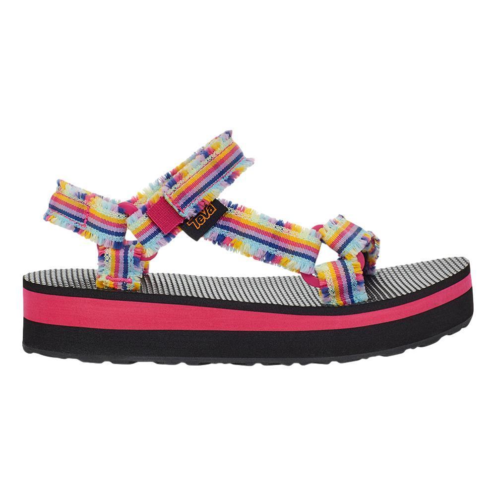 Teva Kids Midform Fray Sandals BLKMLTI_FBML