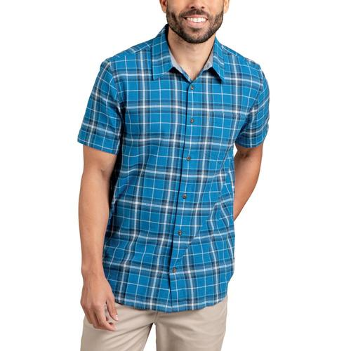 Toad&Co Airscape Short Sleeve Shirt Oxblue_478