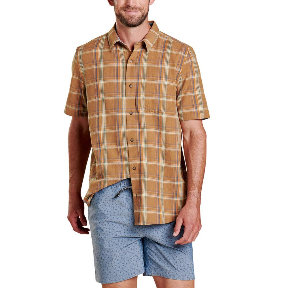 Toad&Co Airscape Short Sleeve Shirt TABAC_247