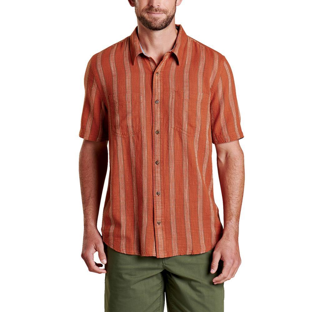 Toad&Co Men's Salton Short Sleeve Shirt COCONUT_204