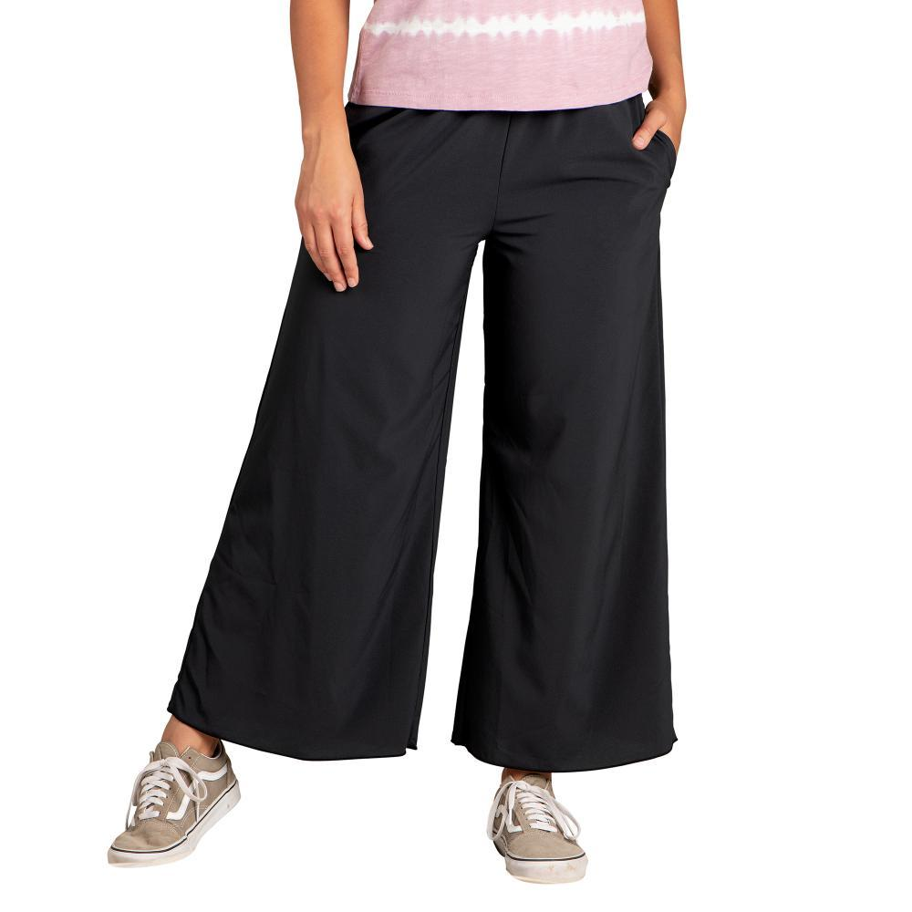 Toad&Co Women's Sunkissed Wide Leg Pants BLACK_100