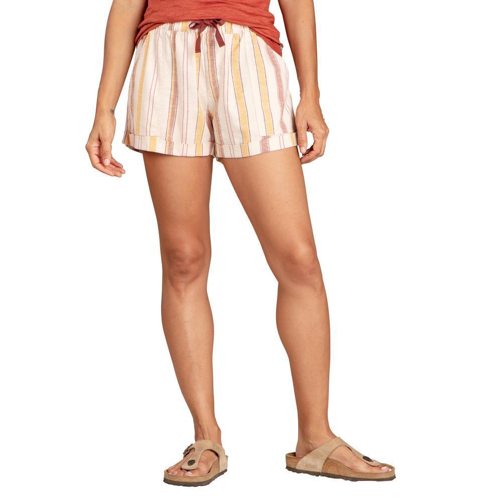 Toad&Co Women's Taj Hemp Shorts PICANTESTRP_613