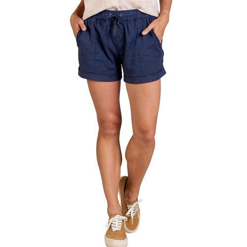 Toad&Co Women's Taj Hemp Shorts Truenavy_414