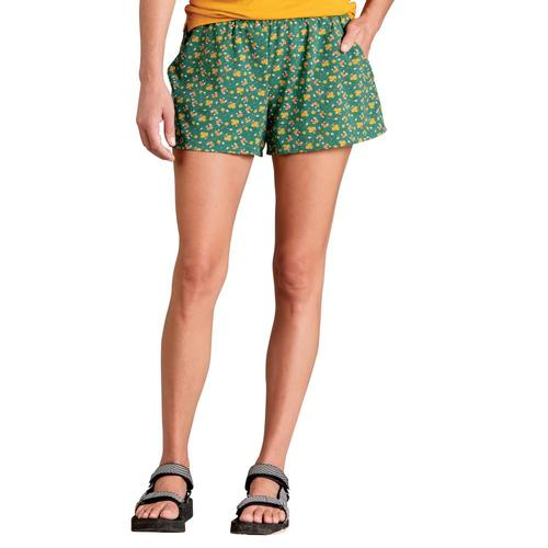 Toad&Co Women's Sunkissed Pull On Shorts Campfloral_361