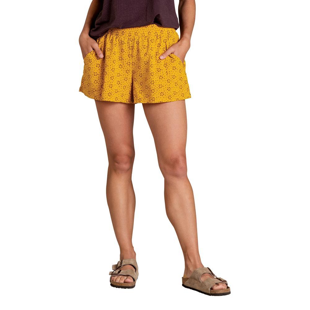 Toad&Co Women's Sunkissed Pull On Shorts GOOSEBERRY_718