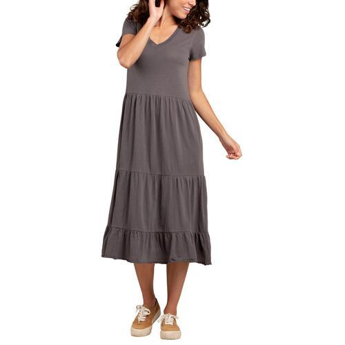 Toad&Co Women's Primo Midi Dress Soot_089