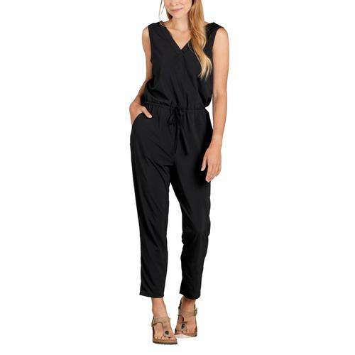 Toad&Co Women's Sunkissed Liv Sleeveless Jumpsuit Black_100